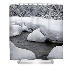 Swift River - White Mountains New Hampshire Usa Shower Curtain by Erin Paul Donovan
