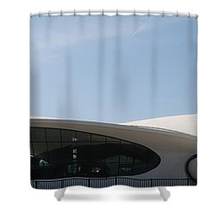 T W A Terminal Shower Curtain by Rob Hans