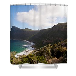 Table Mountain National Park Shower Curtain by Fabrizio Troiani