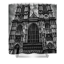 Westminster Abbey Shower Curtain by Martin Newman