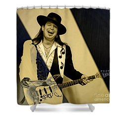 Stevie Ray Vaughan Collection Shower Curtain by Marvin Blaine