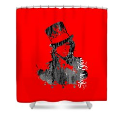 Steven Tyler Collection Shower Curtain by Marvin Blaine