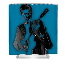 Chuck Berry Collection Shower Curtain by Marvin Blaine