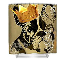 French Bulldog Collection Shower Curtain by Marvin Blaine