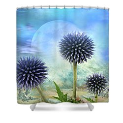 Avantgarde Shower Curtain by Manfred Lutzius