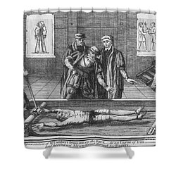 Foxe: Book Of Martyrs Shower Curtain by Granger