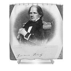 Matthew Fontaine Maury Shower Curtain by Granger