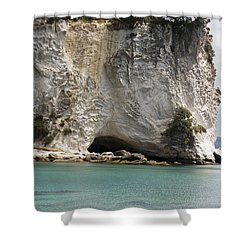 Stingray Cove Shower Curtain by Himani - Printscapes