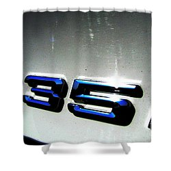 335i Shower Curtain by Amanda Barcon