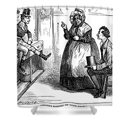 Dickens: Martin Chuzzlewit Shower Curtain by Granger