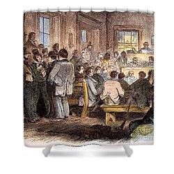 Kansas-nebraska Act, 1855 Shower Curtain by Granger