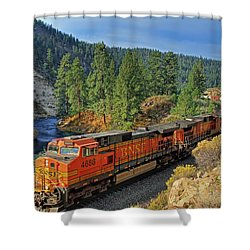 4688 Shower Curtain by Donna Kennedy