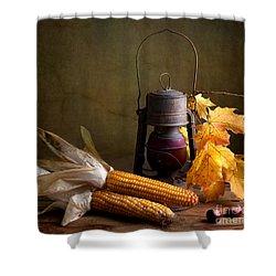 Autumn Shower Curtain by Nailia Schwarz