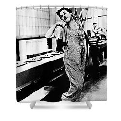Chaplin: Modern Times, 1936 Shower Curtain by Granger