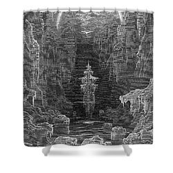 Coleridge: Ancient Mariner Shower Curtain by Granger