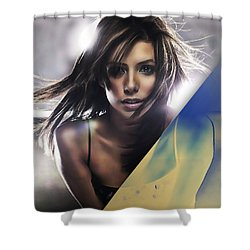 Eva Longoria Collection Shower Curtain by Marvin Blaine
