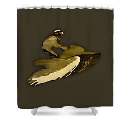 Jet Ski Collection Shower Curtain by Marvin Blaine