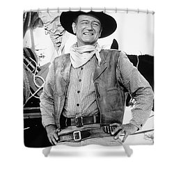 John Wayne (1907-1979) Shower Curtain by Granger