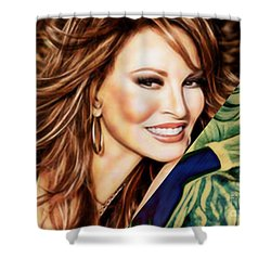 Raquel Welch Collection Shower Curtain by Marvin Blaine