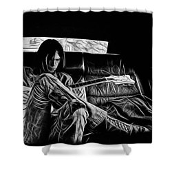 Neil Young Collection Shower Curtain by Marvin Blaine