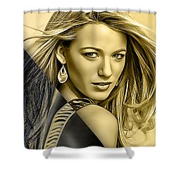 Blake Lively Collection Shower Curtain by Marvin Blaine