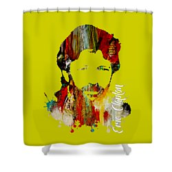 Eric Clapton Collection Shower Curtain by Marvin Blaine