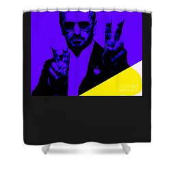 Ringo Starr Collection Shower Curtain by Marvin Blaine