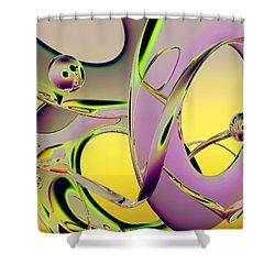 6jkb Shower Curtain by Scott Piers
