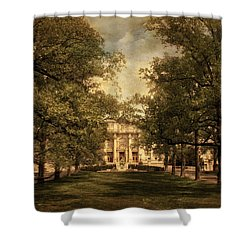 A Formal Passage Shower Curtain by Jessica Jenney