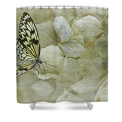 A Lighter Touch Shower Curtain by Lois Bryan