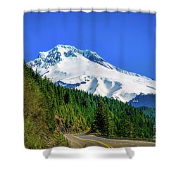 A Mountain Called Hood Shower Curtain by Jon Burch Photography