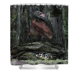 A Rat-sized Purgatorius Hides Shower Curtain by Walter Myers