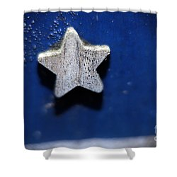 A Star Reborn Shower Curtain by Cj Mainor
