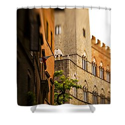 A Tree Grows Shower Curtain by Marilyn Hunt