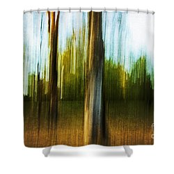 Abstract 1 Shower Curtain by Scott Pellegrin