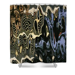 Abstract 13 Shower Curtain by Xueling Zou
