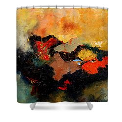 Abstract 8080 Shower Curtain by Pol Ledent