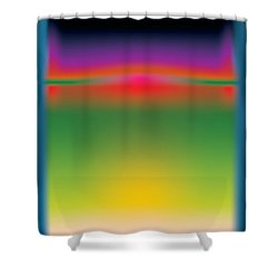 Abstract Color  Shower Curtain by Gary Grayson