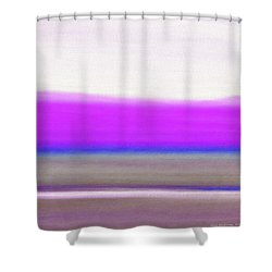 Abstract Sunset 65 Shower Curtain by Gina De Gorna