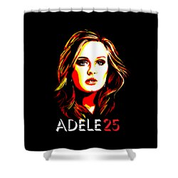 Adele 25-1 Shower Curtain by Tim Gilliland