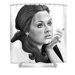 Adele Shower Curtain by Murphy Elliott