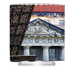 African American History And Culture 5 Shower Curtain by Randall Weidner