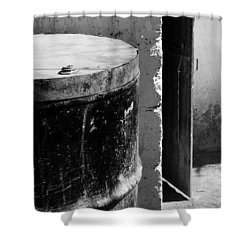 Agua Shower Curtain by Skip Hunt