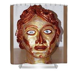Alexander The Great Shower Curtain by Valerie Ornstein