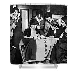 Alice Paul (1885-1977) Shower Curtain by Granger