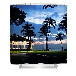 Alii Kahekili Nui Ahumanu Beach Park Hanakaoo Kaanapali Maui Hawaii Shower Curtain by Sharon Mau