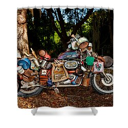 All But The Kitchen Sink Shower Curtain by Christopher Holmes