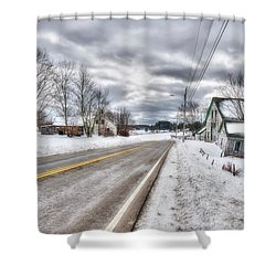 All Roads Lead To Where We Go Shower Curtain by Richard Bean