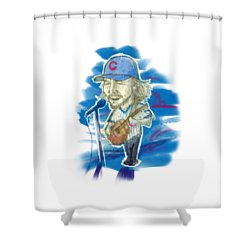All The Way Shower Curtain by Doug  Miller II