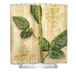Allie's Rose Sonata 2 Shower Curtain by Debbie DeWitt